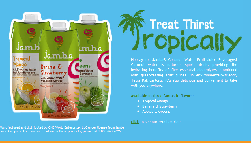 free jamba juice environmental scan Jamba juice offers a healthy halloween alternative with free kids smoothie day.
