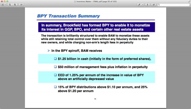 summary 624x357 More On Ackman/BAM/GGP.....& A Newbie.....BPY